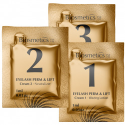 Biosmetics - Sobres loción para lifting de pestañas - Packs 10ud.